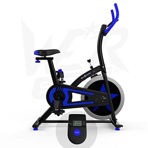 We R Sports Aerobico Formazione Esercizio Bici Ciclo Fitness Cardio Allenamento Casa Ciclismo Corsa Macchina Blu