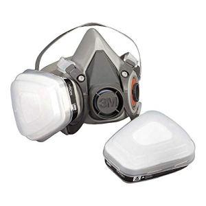 3M 6200M Respiratore a Semimaschera Riutilizzabile Senza filtri Taglia M