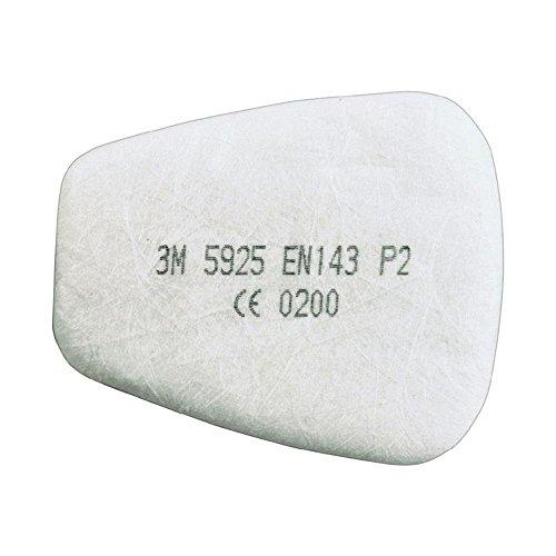 3m Filtro per particelle 5925 1Coppia P2R