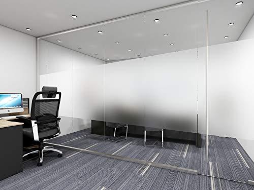 AOKKR Pellicola per Vetri e Finestre VetriAutoadesive Pellicola per Vetri per la Privacy per Ufficio Bagno Camera da Letto Sala di Riunione 40cm200cm