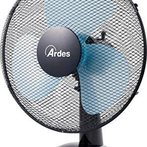 Ardes AR5EA40 Ventilatore da Tavolo Nero Pala 40 cm