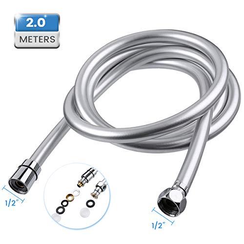 Baban 2M Flessibile Doccia Adatto a Tutti i Soffione Doccia facile da installare e resistente ad alta temperatura