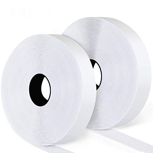 Blooven Autoadesivo Nastro Adesivo 8M Universale Bianco