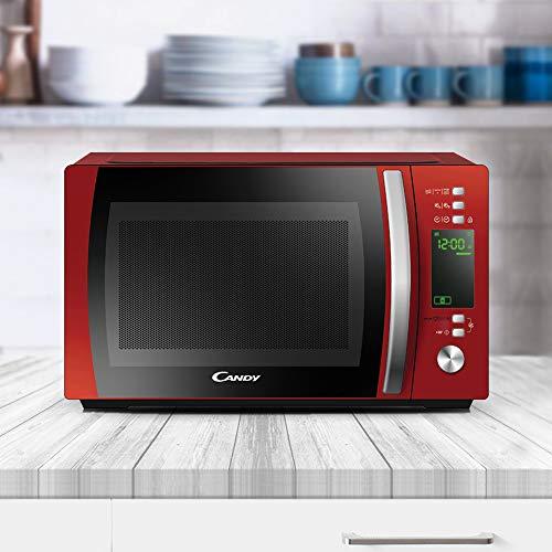 Candy CMXG20DR Microonde con Grill e App Cookin 20 Litri Rosso
