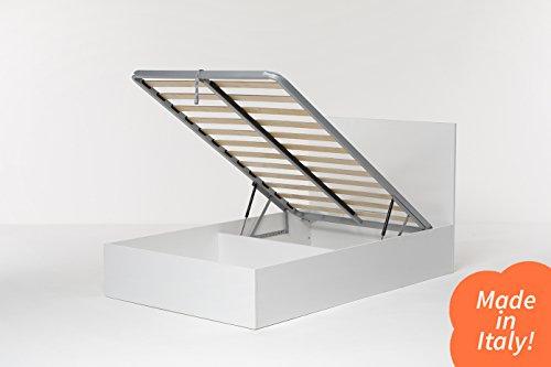 Cang Hi Box Letto Contenitore Bianco 120 x 190 cm