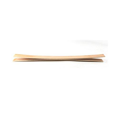 Cortassa 3 Listelli Curvati in Legno di Faggio  Ricambio per Doga  67 X 79 X 08 Cm Kit 3Pz