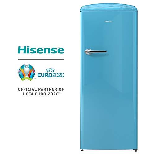 Hisense RR330D4AK2 Frigorifero Monoporta con comparto congelatore 4 254 Litri 40 Decibel AZZURRO
