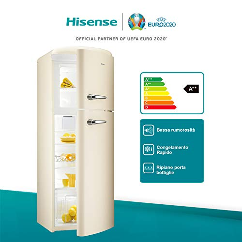 Hisense RT382D4AY2 Frigorifero Doppia Porta 294 Litri 39 Decibel
