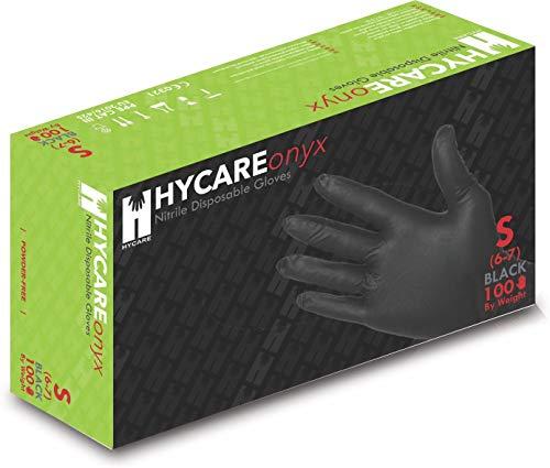 Hycare Guanti Monouso Medical Nitrile in Polvere Taglia S 100 pezzi