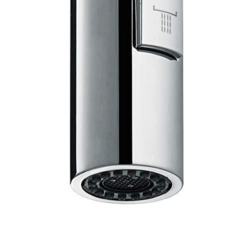 Idro Bric 1 Doccetta di Ricambio Universale per Lavello Cucina ad Installazione VerticaleDue Getti Anticalcare Cromato