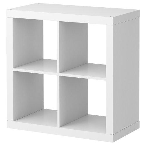 Ikea  Kallax  scaffale libreria Ideale per scatole e ceste Colore Bianco