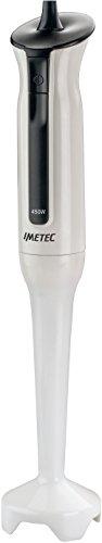 Imetec HB3 Frullatore a Immersione Gambo Extra Large Estraibile Lame in Acciaio Inox Funzionamento a Impulsi 450 W