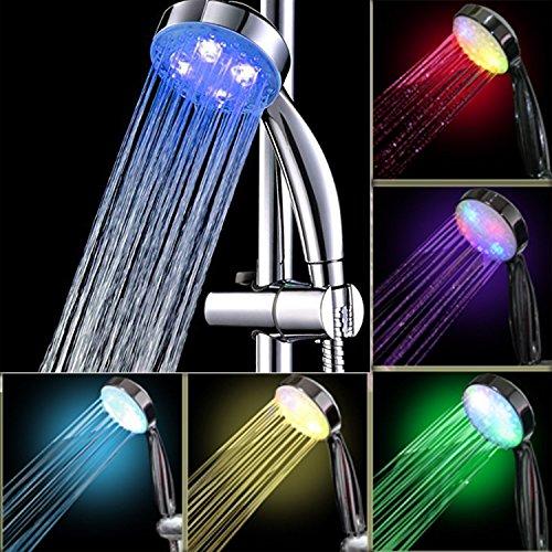 Itian Doccia LED in ABS con Funzione Cambiacolore  7 Colori