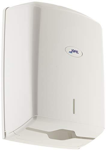 Jofel AH37000 Dispenser scottex Perforato a zigzag Bianco