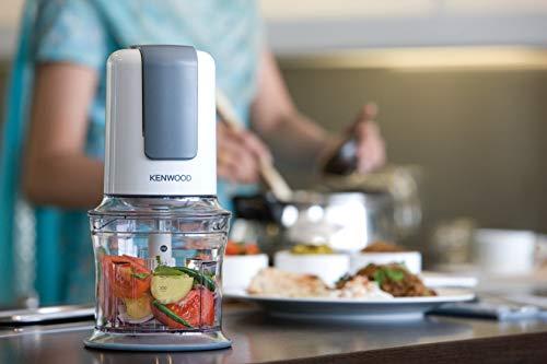 Kenwood CH580 Tritatutto Universale Elettrico Sistema Mixer a 4 lame e Accessorio Maionese 500 W 500 ml Plastica Bianco