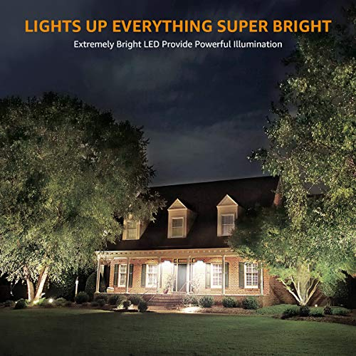 LE Faretto LED da Esterno 50W 5000 lumen Bianco Diurno 5000K Proiettore Faro LED da Esterno Impermeabile IP65 Luce per Giardino Corridoio Casa Illuminazione Interna ed Esterna
