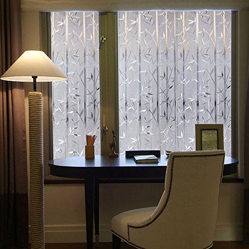 LEMON CLOUD Pellicola per Vetr 3D bamb Pellicola Finestra Autoadesive AntiUV Film per Ufficio Decorazioni e Privacy 60cmx200cm bamb