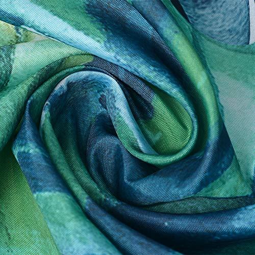 LITTHING Tessuto della Tenda delle Tende da Doccia del Modello di Stampa di Digital 3D della Tenda da Doccia Impermeabile 3