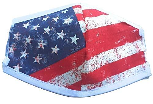 Mascherina america in cotone lavabile