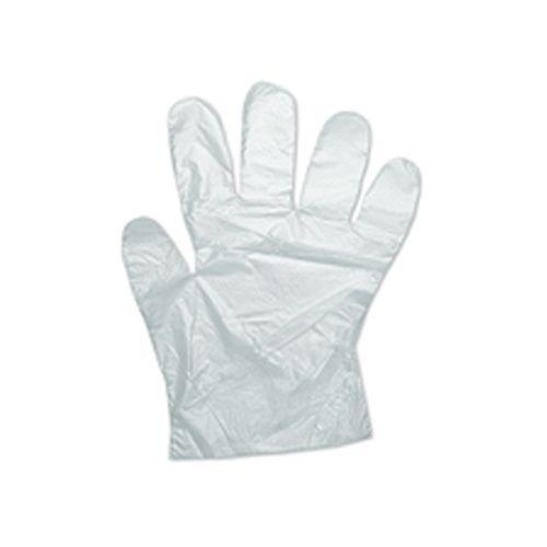 MERSUII 100 x Guanti USA e Getta in plastica di polietilene di Grandi Dimensioni  Pulizia preparare Cibo ECC