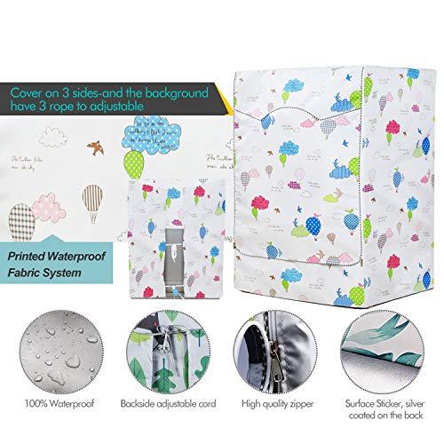 Mr You Coprilavatrice da Esterno Copertura Impermeabile Telo Proteggi LavatriceBalloon 60 x 60 x 85 cm