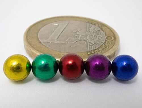 myHodo Palline Magnetiche Colorate con Accessori Gadget Strani Magnetic Balls Palline Calamitate di 5mm Sfere Magnetiche Antistress Mini Calamite per Frigorifero e Lavagna Magnetica 100 pezzi