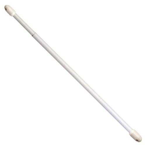 Riel Chyc 53239 Bastone per tende allungabile ovale Bianco 2 pz 4060cm
