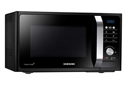 Samsung MG23F301TCK Forno Microonde Grill Combinato 23 Litri 800 W con Piatto Doratore Crusty Nero