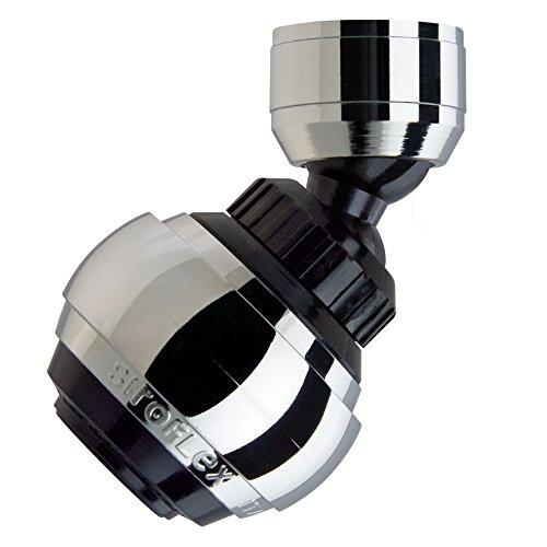 Siroflex Saturn Aereatore 25255S Made in Italy Rompigetto per rubinetto cucina doppio snodo ghiera in ottone Aeratore Rubinetto doccetta per lavandino Rompigetto Rubinetto Risparmio dAcqua