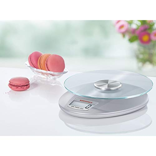 Soehnle 65856 Pesa alimenti elettronica Roma Silver 5 kg