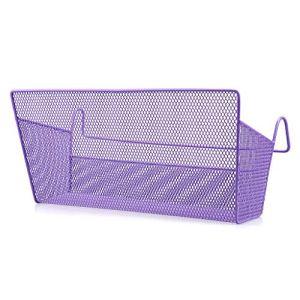 Sumnacon 1 cestino portaoggetti da appendere al comodino ideale per casa ufficio scuola dormitorio letto a castello Viola