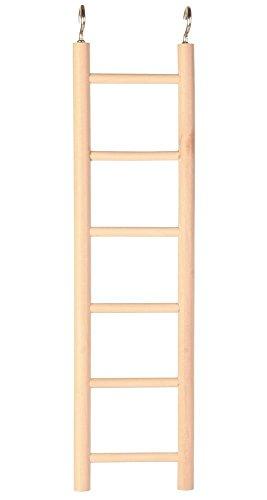 Trixie scaletta di legno con sei tappeti 28cm