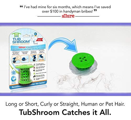 TubShroom Filtro Silicone Verde Standard