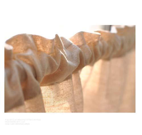 Unimall Tenda Piccola Tendine della Finestra Decorazione per Balcone Camera Parete Ristorante