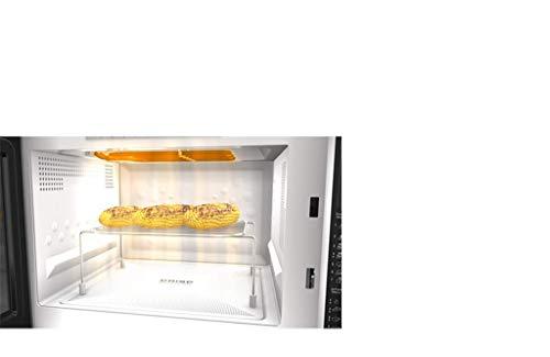 Whirlpool MWF 426 SL Forno a Microonde Extra Space 25 Litri Argento con griglia alta piatto Crisp  maniglia