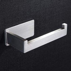 ZUNTO Porta Carta Igienica Acciaio Inox 304  Portarotolo Carta Igienica Senza Foratura per Bagno e Toilette