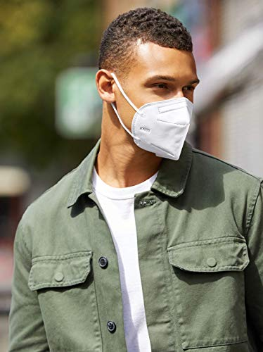 Jiandi confezione da 10 maschera protettiva a 5 strati KN95  FFP2 certificata CE