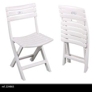 Sedie in Resina Pieghevoli per Esterni