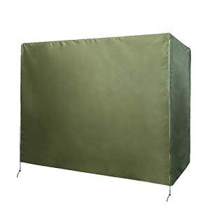 Chengsan copertura per dondolo a 3 posti resistente e impermeabile copertura per dondolo a baldacchino copertura per mobili da giardino