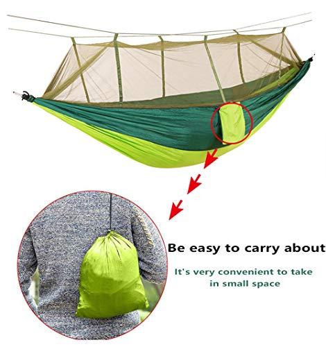 Anyoo Amaca a Paracadute per Giardino Esterno Portatile Campagna per Cortile Spiaggia Backpacking Escursionismo Campeggio