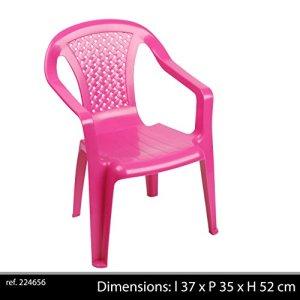 Sedia monoblocco per Bambini Colore Rosa
