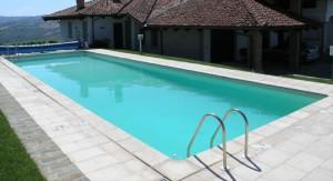 piscina in muratura