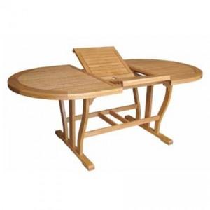 tavolo in legno per il giardino