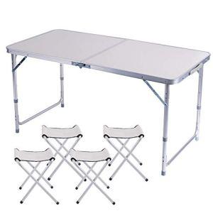 Tavoli Pieghevoli in Alluminio