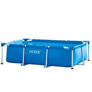 Intex 28271 Rettangolare Cm 260X160X65 Piscina Gioco Estivo Estate Giocattolo 758 2300 Litri 260 x 160 x 65 cm Blu