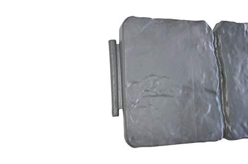 altone PD02380 Bordo per aiuole Grigio