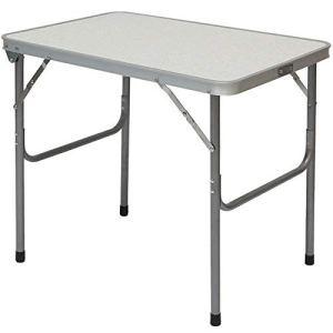 AMANKA Tavolino da Campeggio  Pieghevole Formato Valigia Facile da trasportare  Struttura in Acciaio  Ideale per Picnic Giardino Spiaggia  ca 70x50x60cm