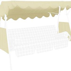 Angerer Tetto del Dondolo 200 x 120 cm qualit Swingtex Colore Avorio