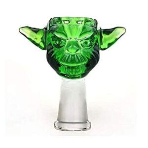 Braciere per bong maschiofemmina 1418 mm motivo Yoda il Maestro verde di Star Wars