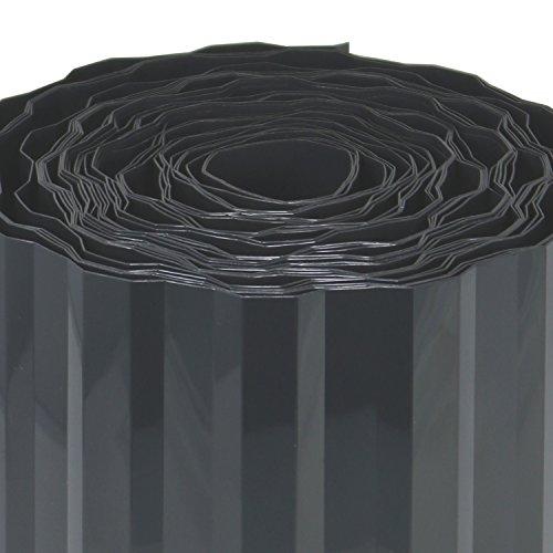 comfour Bordi da Prato in plastica  Bordi del Letto per Prato aiuola o Come Bordo di Taglio  Lunghezza Personalizzabile